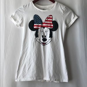 Dinsey Juniors Mickey Mouse American Flag